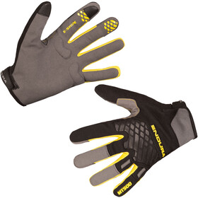 Endura MT500 II Gants, black/yellow